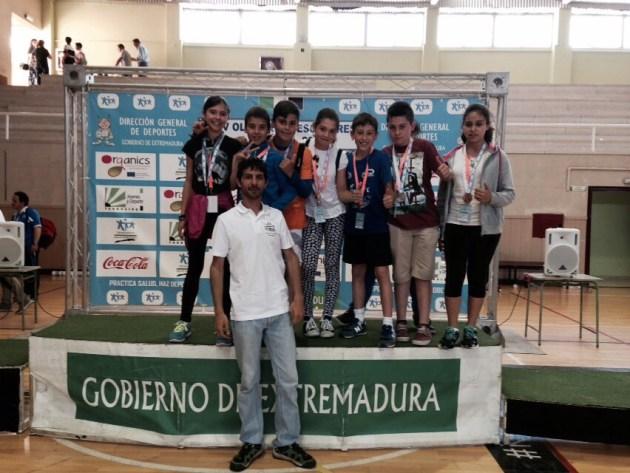 Los alumnos de los colegios de Puebla de Sancho Pérez y Arroyo de San Serván vencedores