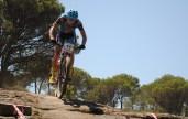 Daniel Jiménez en el Open de Madrid XCO Cadalso de los Vidrios. Imprenta La Verata Bike Team