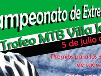 Jaraíz acogerá un año más el Campeonato de Extremadura de XCO