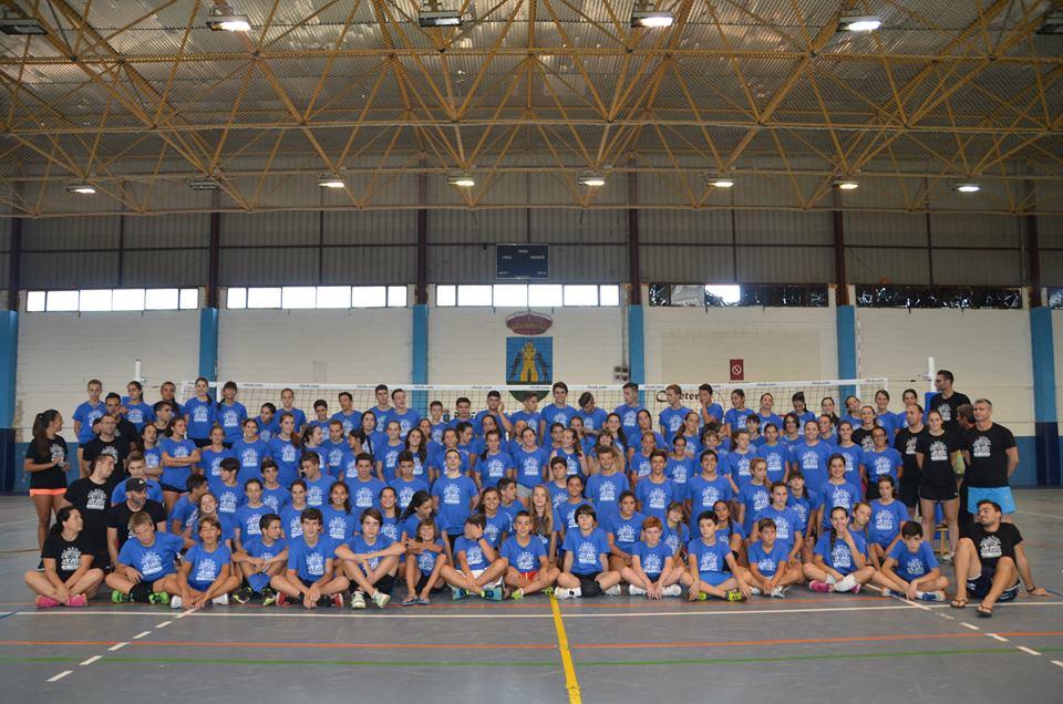Campus Extremadura de Voleibol en Jaraíz de la Vera