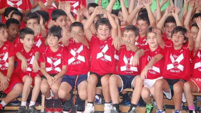 Campus Xarahíz 2015 - Mejora tu baloncesto