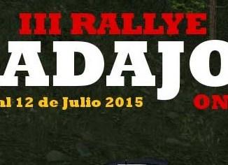 III Rallye de Badajoz