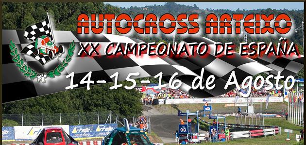 XX Autocross de Arteixo en La Coruña