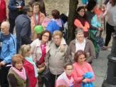 I Marcha Rosa Contra El Cáncer de Mama disputada ayer en Jaraíz de la Vera