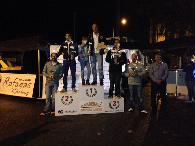 Podium VII Slalom Rafagas Racing
