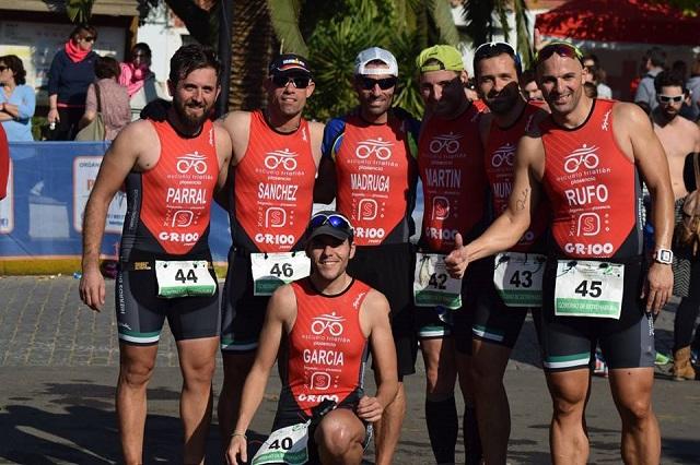 Iván Sánchez Serradilla 3º Campeonato de Extremadura de Duatlón Cross por equipos. Escuela de Triatlón Plasencia