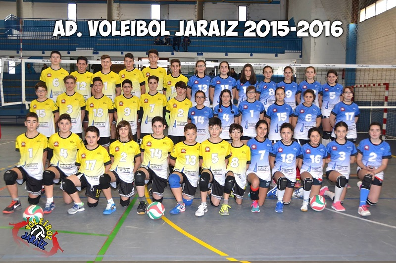 A.D. Voleibol Jaraíz Temporada 2015 - 2016