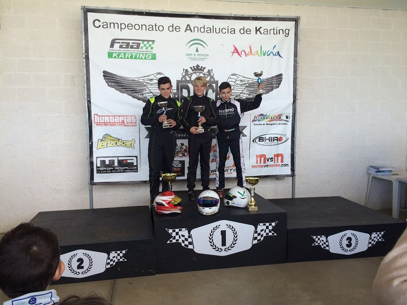 Dos terceros puestos de Miguel Grande en Villafranca de Córdoba