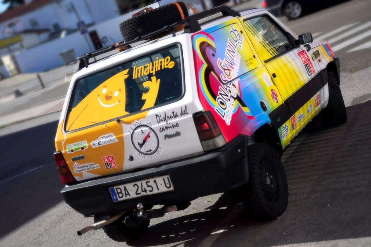 Fiat Panda Trekking 4x4 VII Rallye Solidario Clásicos del Atlas