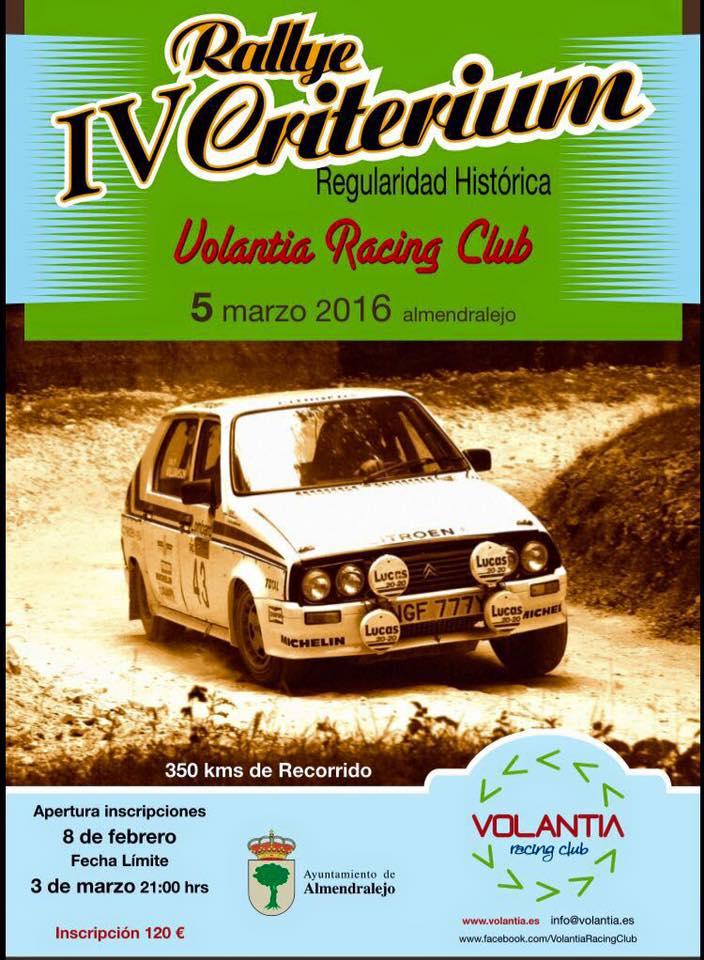 IV Rallye Critérium de Regularidad Histórica