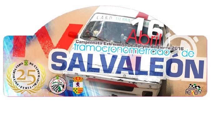 Castro y Leal se imponen en el IV Tramo Cronometrado de Salvaleón