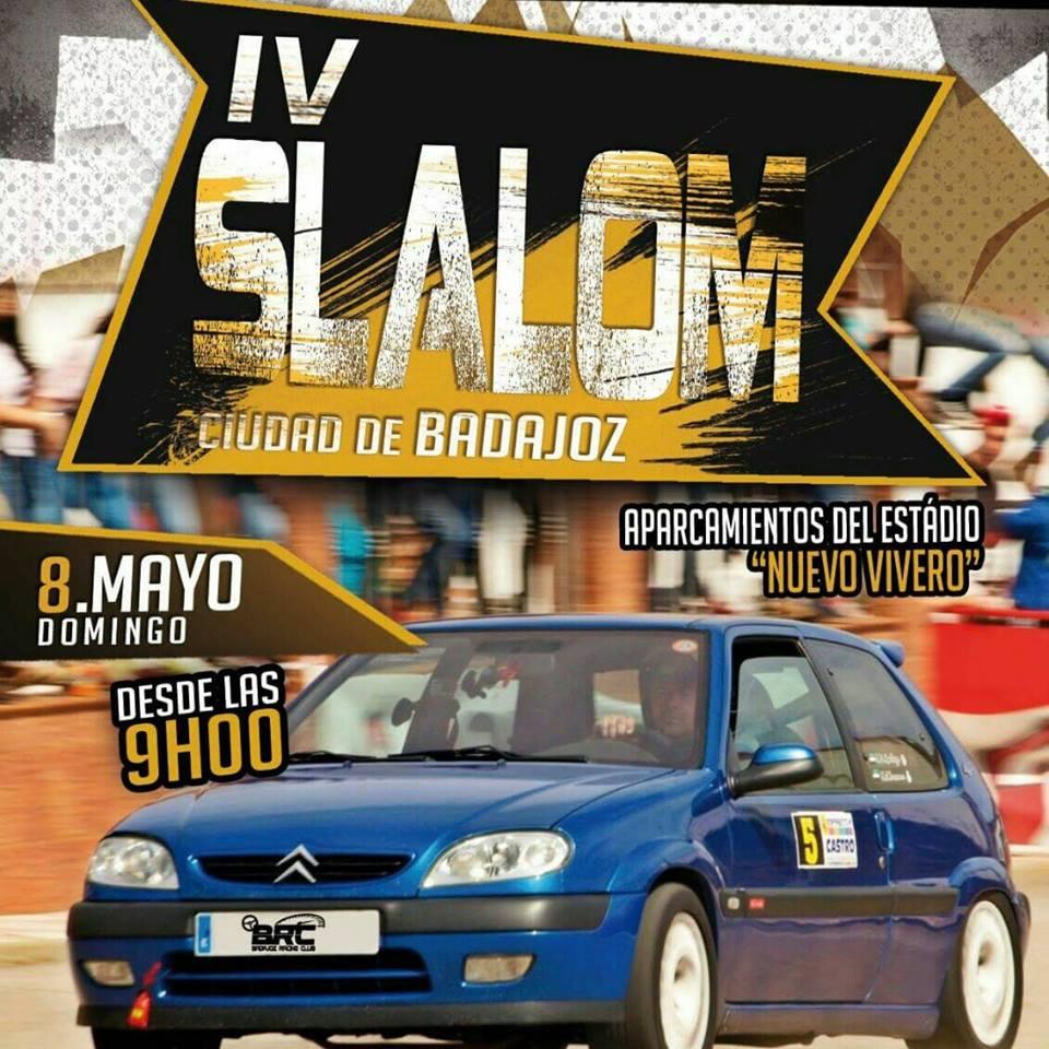 IV Slalom Ciudad de Badajoz