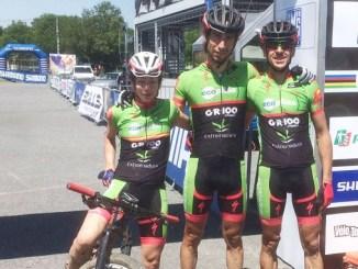 Romero, Alonso y De la Peña, del Extremadura-Ecopilas, estarán mañana en el Campeonato del Mundo XCM, en Laissac (Francia)