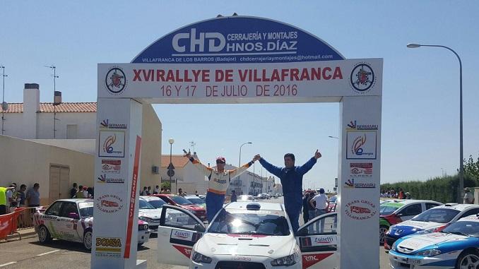 CasimiroyOrtiz_vencedores XVI Rallye Ciudad de Villafranca