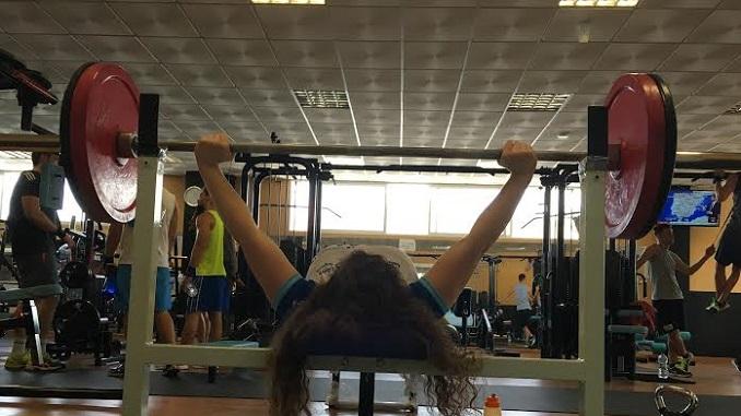 Loida Zabala Ollero, ultima su preparación de cara a los Juegos Paralímpicos