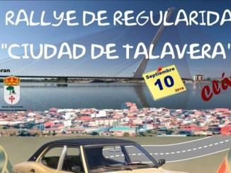 Reales y Barriga cuartos en el VI Rallye de Regularidad de Clásicos Ciudad de Talavera