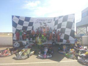 Éxito del fin de semana intensivo de Karting
