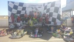 Foto final del curso intensivo de Karting