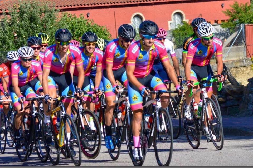 El equipo Guerciotti Redondela