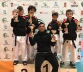 Excelentes resultados del El Club Karate Jaraíz, en el Campeonato de Extremadura celebrado en Herrera del Duque