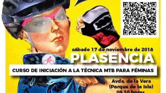 La jaraiceña Eva Garrido impartirá Cursos de iniciación a la técnica del MTB para féminas en Plasencia