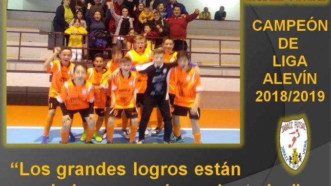 El Jaraíz Futsal Alevín se proclama Campeón de Liga