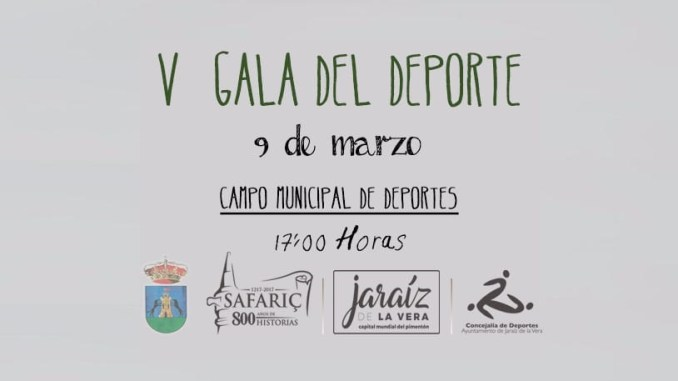 V Gala del deporte Jaraiceño