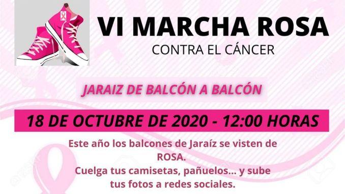 VI Marcha Rosa contra el Cáncer Jaraíz 2020