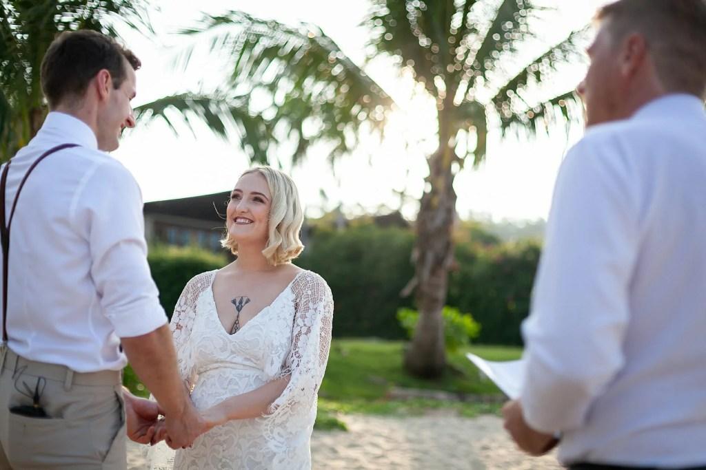 Beach Wedding Photographs - Coconut Island Resort Phuket 45