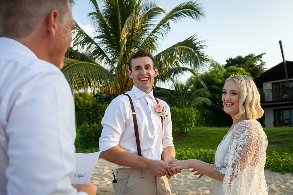 Beach Wedding Photographs - Coconut Island Resort Phuket 49