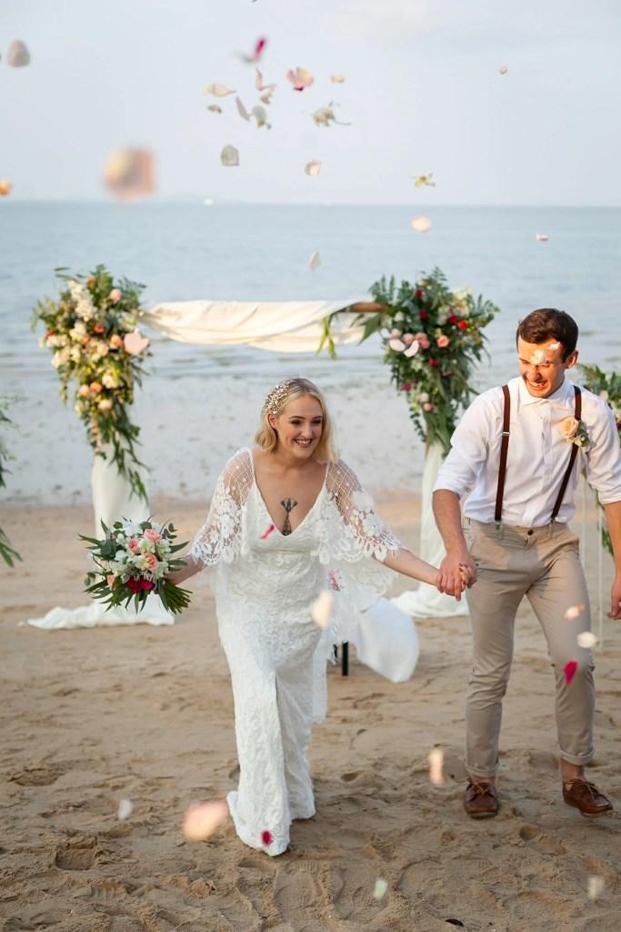 Beach Wedding Photographs - Coconut Island Resort Phuket 61