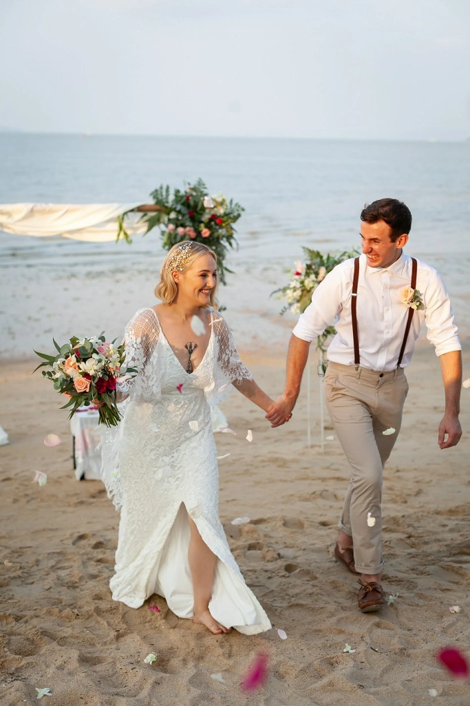 Beach Wedding Photographs - Coconut Island Resort Phuket 63