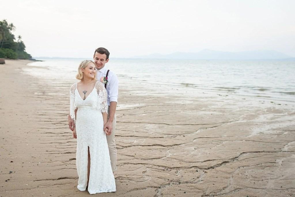 Beach Wedding Photographs - Coconut Island Resort Phuket 78