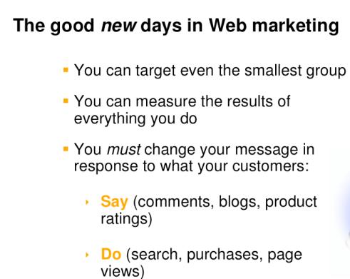 Marknadsföringens nya dagar på internet