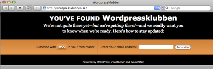 WordPressklubben – alla snackar om…