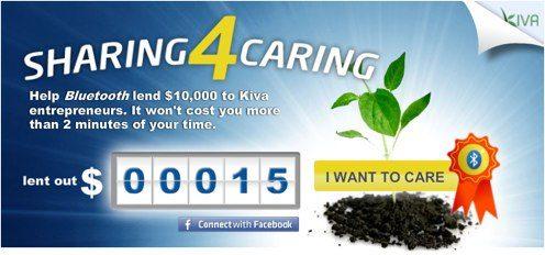 Enkla pengar till Kiva
