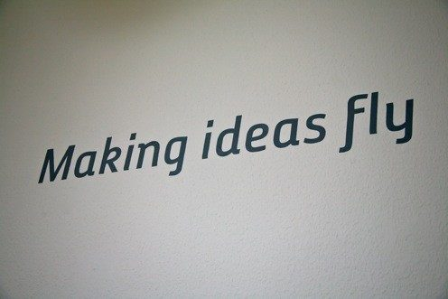 Making ideas fly