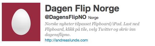 Demo av Dagens Flip