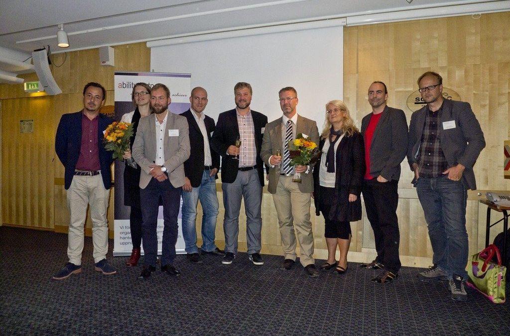 Många vinnare i svensk offentlig sektor – #smios award 2011
