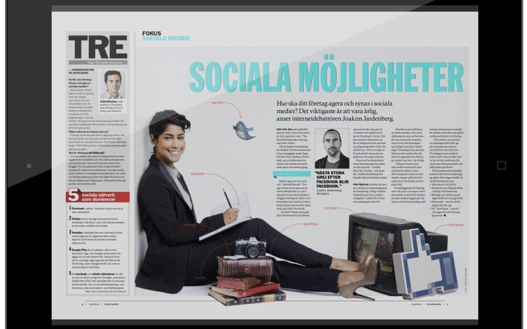 Fem punkter: Så ska ditt företag agera och synas i sociala medier!