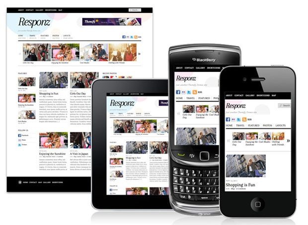 Responsive web design – några favoriter