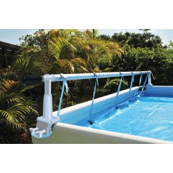 It's the place where you spend the morning with a cup of coffee and a good book or spend the evening barbecuing and entertaining friends. Solar Cover Roller For Above Ground Swimming Pools Solaris Ii Sc K