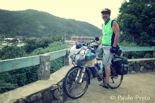 """Conheça """"Antigão"""": o cicloviajante mais """"jovem"""" do Brasil"""