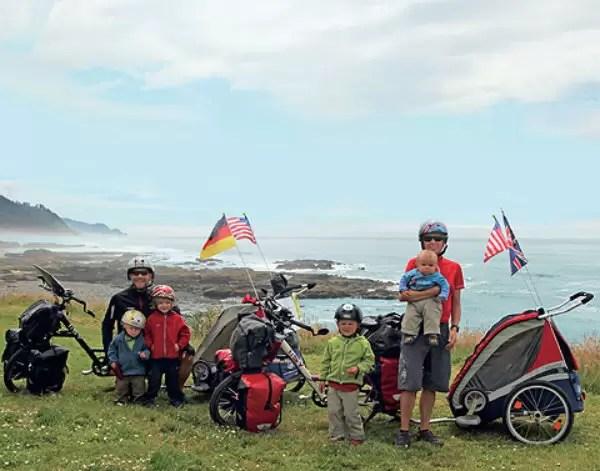 De bicicleta pelo mundo *(com os filhos!)*