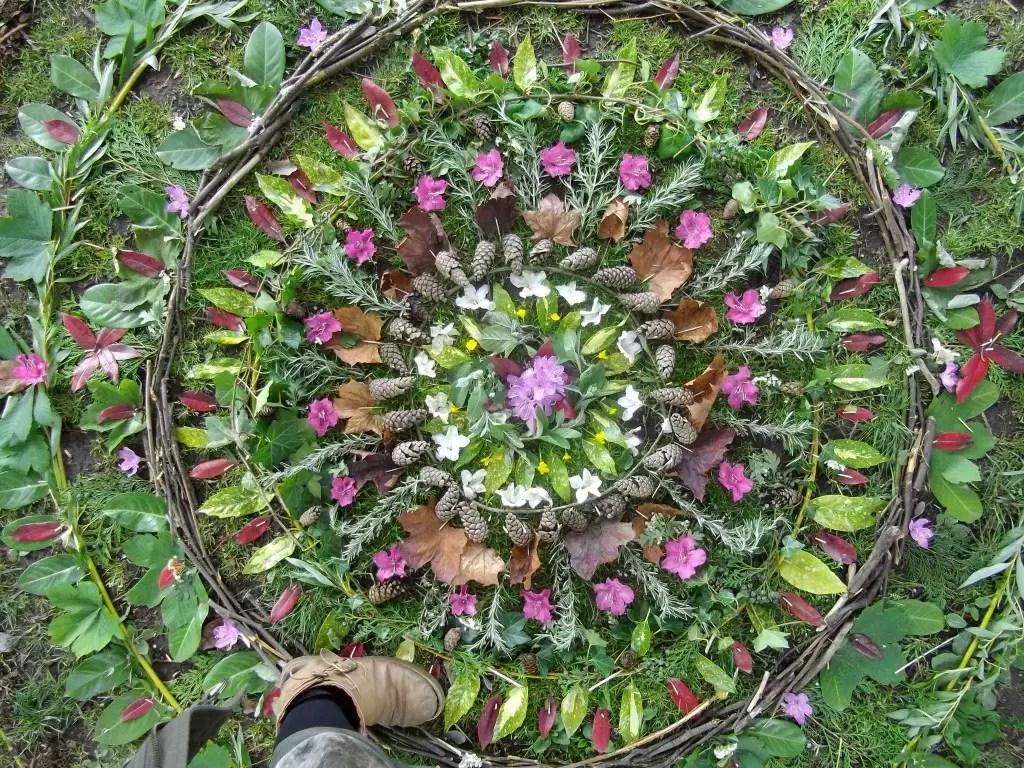 Mandalas – De objetos de decoração à hortas