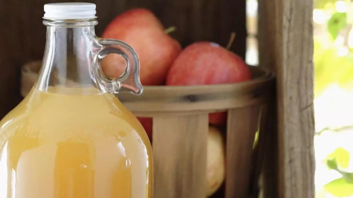 Faça em casa sua própria sidra de maçã
