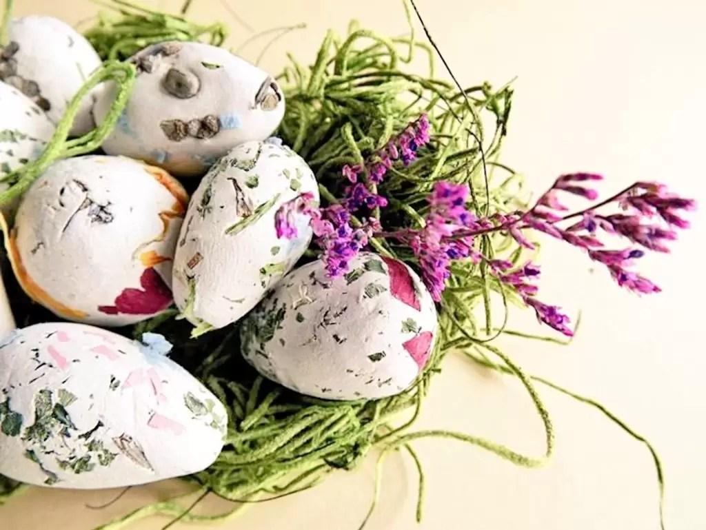 Para uma Páscoa consciente: Ovos Bomba de Sementes