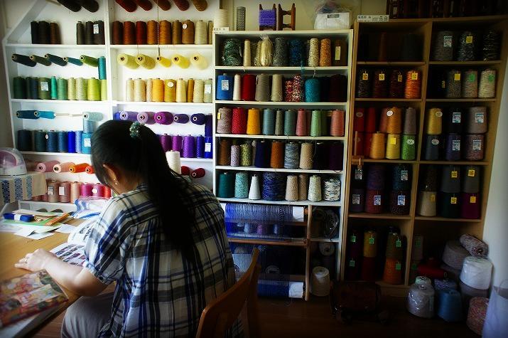 アート探索|hallun(ハルン)染織物の工房