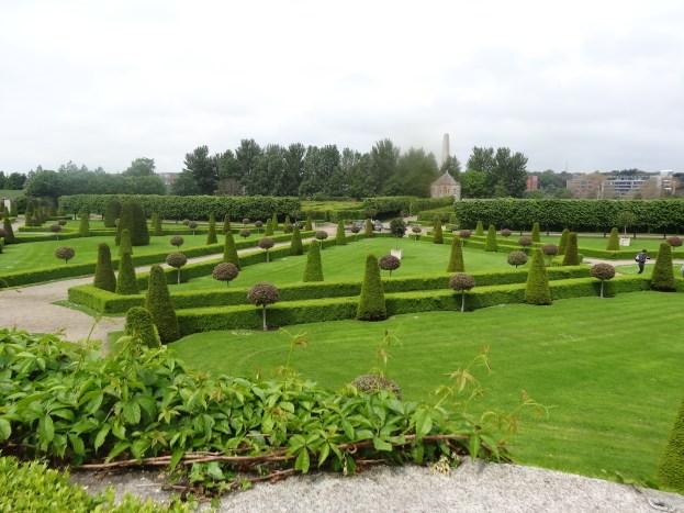 The formal gardens at Kilmainham