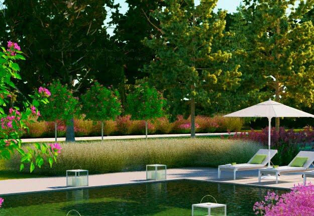 Jardines robados jardines con alma for Paisajismo jardines con piscina